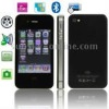 I474 Black, Bluetooth FM Function Touch Screen Mobile Phone, Dual SIM card Dual standby, Slip-operation can Change the Menu (6 p