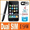 I9w hot dual sim wifi tv phone