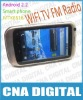 K600A phone android 2.2 smartphone resistive screen WIFI TV FM phone