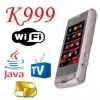 K999 TV wifi Mobile phone with Four card four standby
