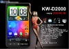 KW-D2000 TV,Dual sim wifi smart phone