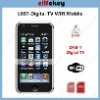 "L007 Quad Band Dual Sim Dual-Standby DVB-T Wifi 3.6""touch screen Mobile phone"