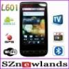 L601 Google Android 2.2 Smart Cellphone Unlocked Quadband Dual Sim Celular Dual Chip Celular with WIFI TV GPS
