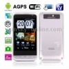 L601 Silver, AGPS + Android 2.2 Version, 3.5 inch Touch Screen, Analog TV (SECAM/PAL/NTSC), Wifi Bluetooth FM function Mobile Ph