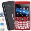 L800 4 Sim Chips Celular 2.3 inch Analog TV Bluetooth FM Dual Camera QWERTY Keyboard Mobilephone Quad Band Unlocked Cellphone