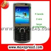 Large loudspeaker dual sim dual standy mobile phones