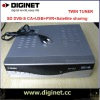 Latest Model !! Twin tuner SD DVBS receiver