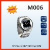 M006 1.5inch Touch Screen Steel Watch Mobile Phone