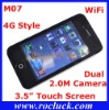 M07 4G Style WiFi Cell Phone Quad Band with Dual 2.0M Camera Support Greek Polish Hebrew