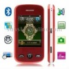M2012 Red, Bluetooth FM Function Quran Mobile Phone with 4GB TF Card, Dual Sim cards Dual standby, Quad band, Network: GSM850/90
