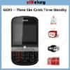 MFU-GG93 GSM Wifi TV Qwerty keyboard 3 sim card mobile phones