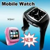 MQ007 watch quad band bluetooth watch phone