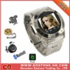 MQ888 Stainless Steel Cheap Watch Mobile Phone MP4 Bluetooth