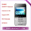 MTK6516 Android 2.3 OS QWERTY Keyboard Smart Phone with GPS DH605