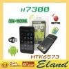 "MTK6573 Chip 4.3"" Capacitance screen GPS cellphone H7300"