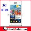 "MTK6573 HDC A9100 WCDMA GSM 4.3"" screen Android 2.3 Wifi GPS i9100 cell phone"