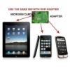 Micro Sim Adapter for mini sim card 3G /3GS,4G,4GS,iphad
