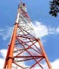 Microwave communication steel tower