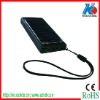 Mobile phone solar charger with 4pcs led lights