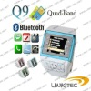 Mobile watch  Cell Phone Dual SIM Card Camera Mp3/4 Q 9