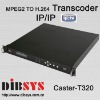 Multichannel MPEG-2 to H.264 Transcoders(Encoder) with IP In/Out for IPTV solution