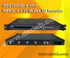 NDS3224D 4 in 1 MPEG-4 AVC/H.264 SD Encoder