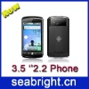 New!! 3.5 inch Dual sim android 2.2 HVGA capacitive touch screen GPS android phone A605 (H3000)