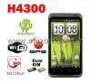 New !!!Android 2.3 WCDMA (H43000) 3G smart phone with dual card GPS FM TV Bluetooth
