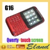 New arrive Dual sim G16 Qwerty& touch screen mobile phone