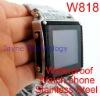 New coming! Stainless Steel Waterproof watch phone W818
