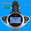 New model Car mp3 fm transmitter with RDS