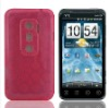 New solid color silicon mobile phone case for HTC EVO 3D