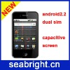 Newest Smart phone android 2.2 dual sim ( Model A604 )
