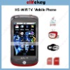 Nexus Style H5 WiFi TV Java cellphone Black 3.2 inch touch screen
