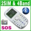 Old Senior Elderly MP3 Cell Phone