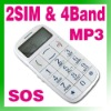 Old Senior MP3 FM Mobile Phone