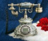 Old style resin antique telephone