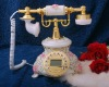 Old style resin home telephone,antique telephone