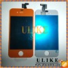 Orange LCD Display Screen Digitizer Assembly For iPhone 4th 4G