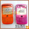 Orange & Peach Housing 8520 For BlackBerry