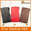 Original Pcaro Flip Leather Case for Nokia N9 With Retail Package &LF-0507