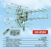 Outdoor remote control tv antenna