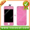 Pink Color LCD Digitizer Assembly for iPhone 4S 4GS