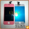 Pink LCD With Touch Digitizer Assembly For iPhone 4th 4G