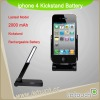 Portable battery bank for iPhone 4
