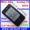 Promotion M158 Mini 4Gs Appearance TV Cell Phone