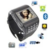 Q8 dual sim watch mobile phone,1GB&Bluetooth headset