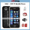 Quad Band Dual Cards GSM Wifi TV Qwerty Mobile Phone Zogo-V911/V902