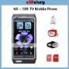 Quad Band Dual Cards with Wifi TV Java Pop Cell Phone Star-N8