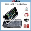 Quad Band Dual Cards with Wifi TV Java Qwerty Chinese Mobile Phone T3000